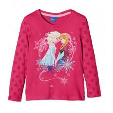 Bluza Frozen, roz, Fulgi de zapada