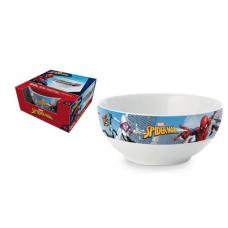 Bol cereale Spiderman (albastru)