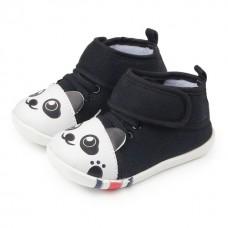Pantofi negri baietei