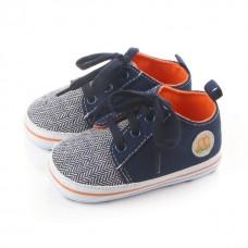 Pantofiori baietei bleumarin