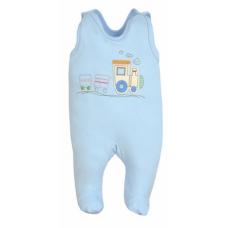 Salopeta bebe-blue