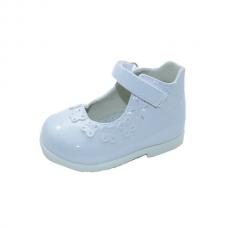Pantofi fetite-alb