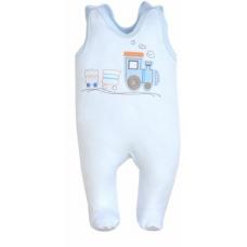 Salopeta bebe-alb