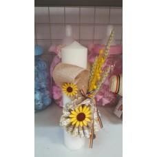 Lumanare botez traditional