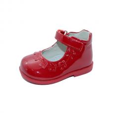 Pantofi fetite-rosu