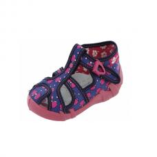 Sandale din panza pentru fetite-Simina