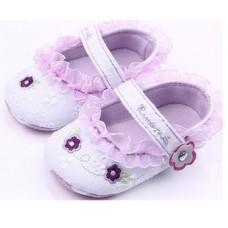 Pantofi fetite-dantelati