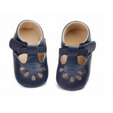 Pantofi bebelusi-model decupat-albastru