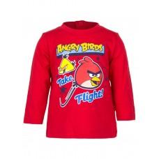 Bluza baieti-Angry Birds-Rosu