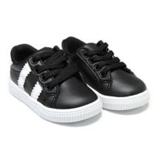 Adidas copii,cu talonet ortopedic si perna de aer,negru