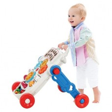 Premergator copii,Tip antemergator interactiv,2 in 1,Panou muzical si Functie lego,Joc bile inclus