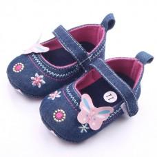 Pantofiori fetite blugi Cod: ID1556-1