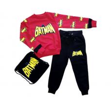 Costum 3 piese Batman-cu ghiozdanel