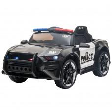 Masinuta electrica  Police,cu telecomanda si portbagaj disponibil