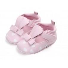 Pantofiori fetite roz - Urechi de iepuras (Pantofi - Balerini)