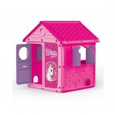 Casuta Roz - Unicorn, My First House - DOLU