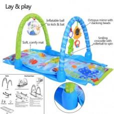 Centru de activitati, Multicolor, Modul de joaca gradual 3 in 1