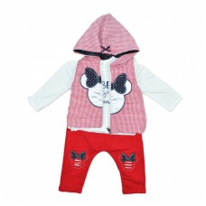 Compleu 3 piese Minnie Mouse