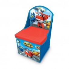 Cutie scaun depozitare jucarii Avioane Super Wings