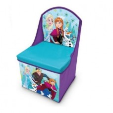 Cutie 2 in 1,Depozitare jucarii si scaunel cu spatar,Frozen