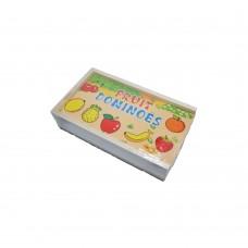 Domino Din Lemn, Fructe