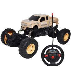 Jeep cu RC, AC, suspensii, 22x13x11 cm
