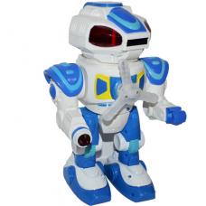 Robot cu baterii si discuri