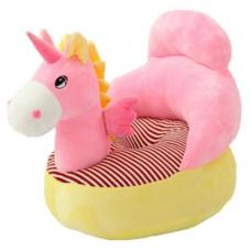 Fotoliu din plus Unicorn, Roz