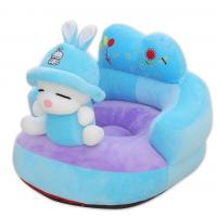 Fotoliu bebe spatar din plus Iepurasul Albastru