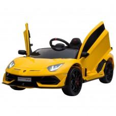 Masinuta electrica Lamborghini-Galben