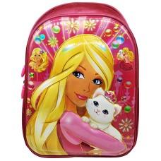 Ghiozdan 3D Barbie,Dimesniune 35-28-19 cm