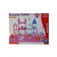 Jucarie tip lego,108 piese,castel