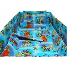 LENJERIE BUMBAC Mickey, 5 PIESE 120X60 CM-5 piese