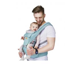 Marsupiu bebelusi,Ergonomic,,Scaunel detasabil,Protectie coloana vertebrala