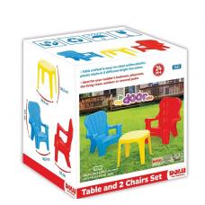 Masa cu bancute, pt.4 copii, Unicorn,69x79cm
