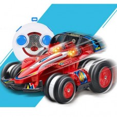 Masinuta Tumbling Warrior Super Racing Stunt Small Car 2.4G With Remote Control - Red