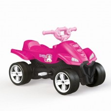 ATV cu pedale, albastru, 57x85,5x48cm -roz
