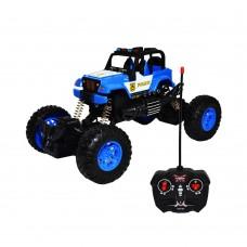 Jeep Politie Cu RC, AC, 22x13x12,5 Cm