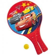 Set tenis,2 palete si minge,Cars