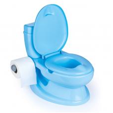 Olita Tip WC, Cu Sunet, Bleu, 28x39x38cm - Dolu