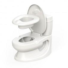 Olita -Tip WC Educational de Antrenament pentru copii,Muzical,Cu bazin si suport hartie igienica, Alba