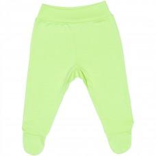 Pantaloni cu botos,Verde,Cu banda