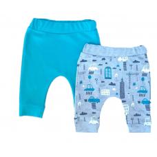 Set 2 perechi pantalonasi pentru bebe