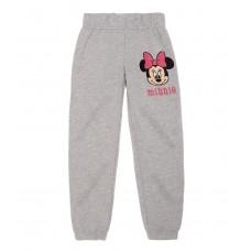 Pantaloni flausati Minnie Mouse gri