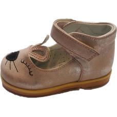 Pantofi piele ortopedici-pisicuta