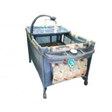 Patut bebe,2 nivele,Sistem de leganare,Carusel inclus
