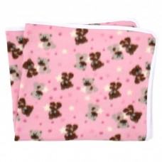 Paturica din polar pentru bebe,roz
