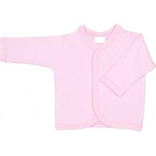 Pieptaras maneca lunga,roz,0-3 luni
