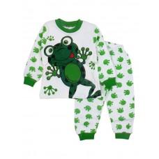 Pijama broscuta,verde