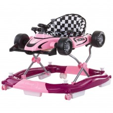 Premergator 4 in 1,functie de leagan si vehicul,roz
